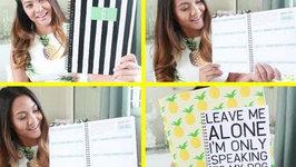 DIY Notebook Cover, My Student Planner, plus  School Supplies Haul