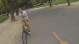 Bike Hitchhiking - Where Else But Amsterdam