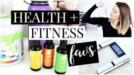 Health and Fitness Favorties - Fabletics, Digital Body Scale, Supplements and More