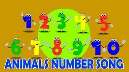 1 to 10 Animal Number Songs  Ten Little Numbers  Nursery Rhymes For Children