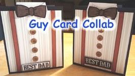 Guy Card Collab - Bow Tie Card
