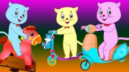 Three Little Kittens Went To The Park - Nursery Rhymes by Cutians