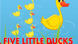 Five Little Ducks  Five Little Ducks Went Out One Day  English Nursery Rhymes
