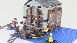 LEGO Spider-Man 2 Doc Oc's Hideout Review - LEGO 4856