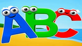 Letters of the Alphabet - ABC Song for Children