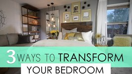 Top 3 ways to transform your Bedroom Decorating