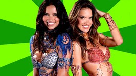Adriana Lima and Alessandra Ambrosio Wear A 2 Million Dollar Bra