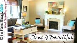A Clean Home is Beautiful - Organizing Tip of the Day