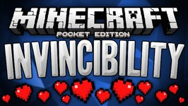 Invincibility Trick In MCPE - Become Invisible to Hostile Mobs - Minecraft Pocket Edition