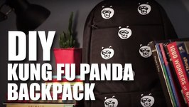 Mad Stuff With Rob - DIY Kung Fu Panda Backpack- Kung Fu Panda 3 Special
