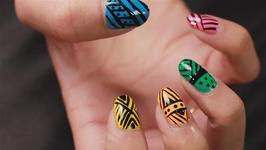 Learn to Paint Tribal Nails