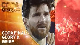 Messi's shocking farewell steals Chile's Copa show