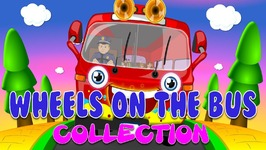 Wheels On The Bus Collection  Wheels On The Bus In Different Languages 18 Mins  Compilation
