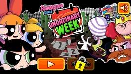 Unordinary Week The Powerpuff Girls Games Walkthrough - Cartoon Network