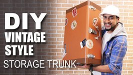 Mad Stuff With Rob - How To Make A Vintage Style Storage Trunk- DIY Craft