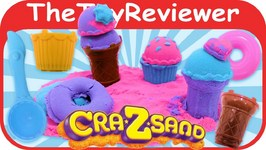 Cra-Z-Sand Mold And Play - Sweet Treats Unboxing Toy Review