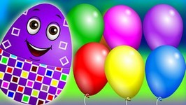 Surprise Eggs Funny Balloons Popping Show For Learning Numbers  Learn To Count 1 to 10  ChuChu TV