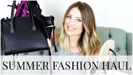 Summer Fashion Haul - Adore Me Target Sole Society