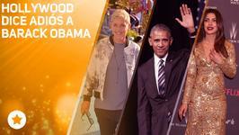 Hollywood se despide de Barack Obama