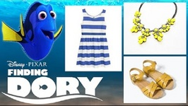 Finding Dory Inspired Fashion Lookbook - Dory, Nemo, Marlin, Bailey and More