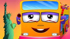 Wheels On The Bus  New York City  Popular Nursery Rhyme by ChuChu TV