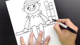 How To Draw Elf On A Shelf by aggregator  fawesometv