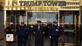 Donald Trump Gets His Own Wall Around Trump Tower