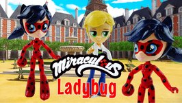 LADYBUG - Miraculous Ladybug And Cat Noir My Little Pony Custom Doll DIY From Equestria Girls Mini