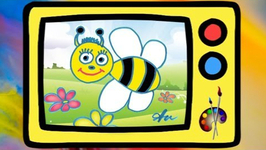 Learn To Draw A Bee In English For Kids