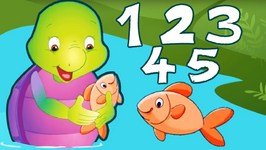 12345 Once I Caught a Fish Alive - Numbers Song - Nursery Rhymes for Children