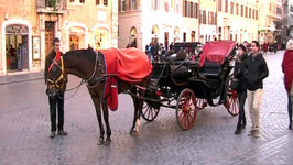 Rome to Ban Historic Horse-drawn Carriages?
