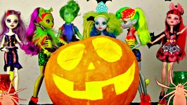 Monster High- Halloween Pumpkin Costume Party - Ghosts, Goblins And  Ghouls