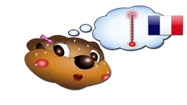 I'm Hot, I'm Cold - French Lesson 04 - Teach Emotions and Feelings - Baby Words - Kids Learning