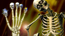 Finger Family - Skeleton Finger Family Rhyme
