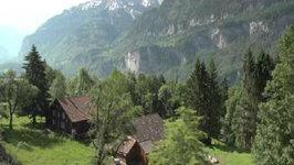 Lucerne to Interlaken Swizerland by Train Through the Brunig Pass