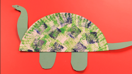Paper Plate Dinosaur  sc 1 st  fawesome.tv & Paper Plate Dinosaur Video by Happy Crafts | fawesome.tv