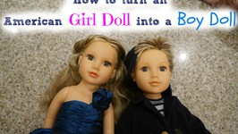 Turn an American Girl Doll into a Boy
