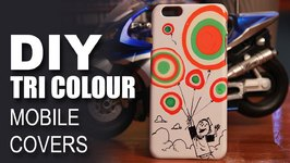 Mad Stuff With Rob - How To Make Tri Colour Indian Flag Mobile Covers- Independence Day Special