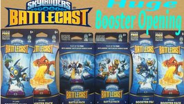 Skylanders BattleCast Huge Pack Opening Ultimate Rares