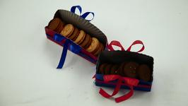 Paper Plate Cookies Basket