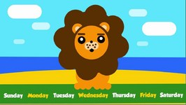 7 Days Of The Week Song For Kids