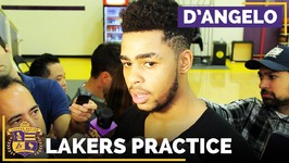D'Angelo Russell On Lakers Season Opener, Keeping Metta World Peace