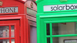 London's Iconic Red Phone Boxes Turn Green