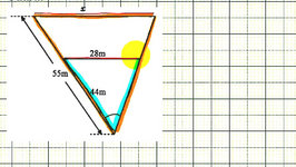 Ex 2: Find the Length of a Side of a Triangle Using Similar Triangles (Overlapping)