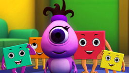 The Shape Square - Monster Family Colors and Shapes