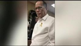 Ex-President Aquino shows up at Senate for Dengvaxia hearing
