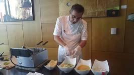 Conrad Miami - Making Avocado Fries with Chef Virgile Brandel June 2016