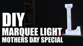 Mad Stuff With Rob - DIY Marquee Lights- Mothers Day Special