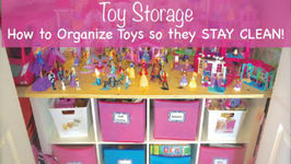 How To Organize Toys So They Stay Clean