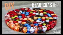 Bead Coaster DIY  Another Coaster Friday  Craft Klatch
